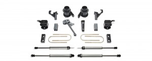 "FABTECH 5"" Basic System w/ Coil Spacers & Dirt Logic Shocks - 2013-17 Ram 3500 4WD"