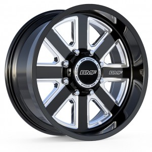 BMF Hustle - Blackened 20x9
