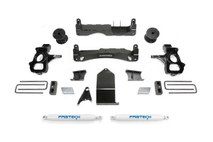 FABTECH 2007-18 GM C/K1500- 4″ BASIC SYSTEM W/ REAR SHOCKS