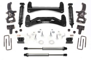 FABTECH 2004-08 FORD F150 2WD- 6″ PERFORMANCE SYSTEM W/ DIRT LOGIC 2.5 COILOVERS & REAR DIRT LOGIC SHOCKS