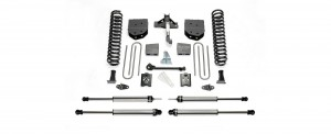 "2005-07 Fabtech  6"" Basic System - 2005-07 Ford F250 4WD w/o Factory Overload"