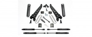 "FABTECH  2005-07   6"" Radius Arm System - Ford F250 4WD w/ Factory Overload"