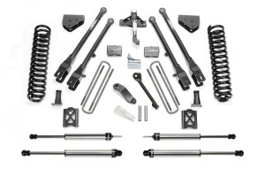 FABTECH 2005-07 FORD F350 4WD- 6″ 4 LINK SYSTEM W/SELECTED SHOCKS