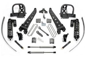 FABTECH 2008-10 FORD F250 4WD- 8″ RADIUS ARM SYSTEM W/ DIRT LOGIC 4.0 COILOVERS & REAR DIRT LOGIC SHOCKS