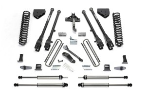 FABTECH 2008-10 FORD F350 4WD- 10″ 4 LINK SYSTEM W/ DIRT LOGIC SHOCKS