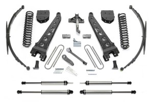 FABTECH 2008-10 FORD F350 4WD- 10″ RADIUS ARM SYSTEM W/ DIRT LOGIC SHOCKS