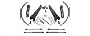 "FABTECH  2008-16  8"" Radius Arm System w/ Performance Shocks -Ford F250/F350 4WD & 2011-13 Ford F450 4WD (8 Lug)"
