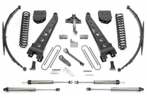 FABTECH 2011-16 Ford F250 4WD- 10″ RADIUS ARM SYSTEM W/ DIRT LOGIC SHOCKS