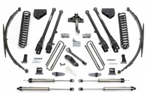 FABTECH 2011-16 Ford F250 4WD- 10″ 4 LINK SYSTEM W/ DIRT LOGIC SHOCKS