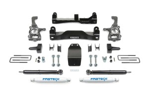 FABTECH- 2009-13 FORD F150 4WD- 4″ BASIC SYSTEM