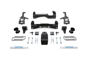 FABTECH- 2015-18 FORD F150 4WD- 6″ BASIC SYSTEM W/ FRONT STOCK COILOVER SPACERS & REAR SHOCKS