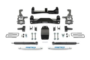 "FABTECH 2014 Ford F150 4WD-  4"" Basic System w/ Rear Shocks"