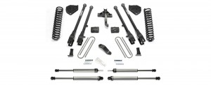 """2017  Fabtech  6"""" 4 Link System - Ford F250/F350 4WD"""