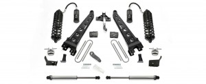 """2017  Fabtech  6"""" Radius Arm System w/ Front Dirt Logic 4.0 Resi Coilovers & Rear Dirt Logic 2.25 Shocks - Ford F250/F350 4WD"""