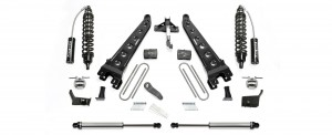 """2017  Fabtech  6"""" Radius Arm System w/ Front Dirt Logic 2.5 Resi Coilovers & Rear Dirt Logic 2.25 Shocks -Ford F250/F350 4WD"""