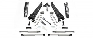 "FABTECH 2017 - 4"" Radius Arm System w/ Front Dirt Logic 2.25 Resi Shocks & Rear Dirt Logic 2.25 Shocks- Ford F250/F350 4WD"
