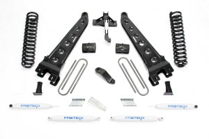 FABTECH  2018 FORD F450/ F550 4WD- 6″ RADIUS ARM SYSTEM W/ SHOCKS