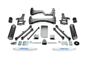 FABTECH 2013-17 RAM 1500 4WD-6″ BASIC SYSTEM W/ REAR SHOCKS