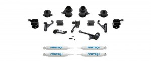 """FABTECH  2014-17 Ram 2500 4WD- 5"""" Lift w/Coil Spacers"""