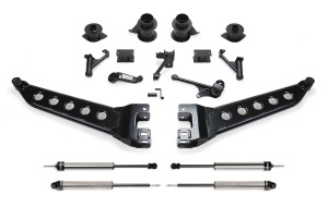 FABTECH 2014-18 RAM 2500 4WD- 5″ RADIUS ARM SYSTEM W/COIL SPACERS & DIRT LOGIC SHOCKS