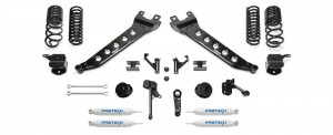 "FABTECH- 2014-17 Ram 2500 4WD-7"" Radius Arm System w/Coil Springs"