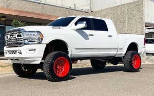 "8"" Lift Kit for 2019+ Dodge Ram 2500 (4WD, Air Rear)"